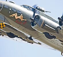 B17 Sally B by Nigel Bangert