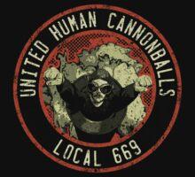 United Human Cannonballs Kids Tee