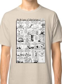 The 24 Types of Libertarian Classic T-Shirt