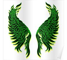 Celtic Wings Poster