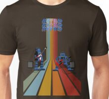 Retro Robot Rock Unisex T-Shirt