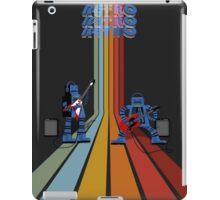 Retro Robot Rock iPad Case/Skin