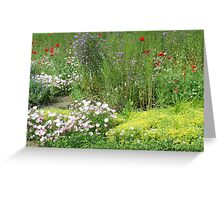 A Garden of Love Greeting Card