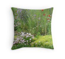 A Garden of Love Throw Pillow