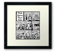 With God On Their Side Framed Print