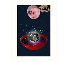 Color Chaos Collection -- The Creation Of The Universe Art Print