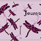 Whimsical Dragonflies Journal by Sandra Foster