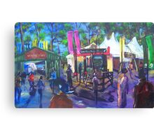 GYMPIE MUSTER - 25TH COLLECTION -COUNTRY LIFE Canvas Print
