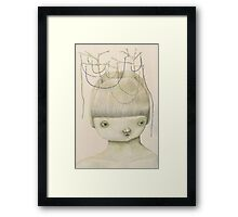 Left Hanging Framed Print