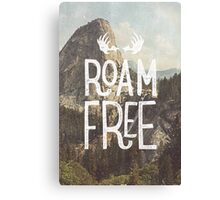 ROAM FREE Canvas Print
