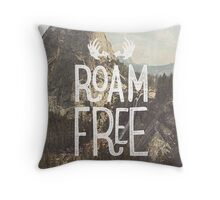 ROAM FREE Throw Pillow
