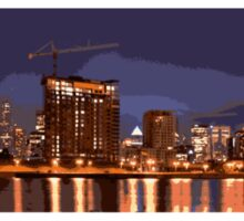 Montreal skyline Sticker