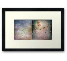 Voyage through light Framed Print