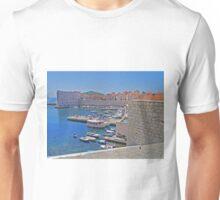 Port, Old Town, Dubrovnik, Croatia Unisex T-Shirt