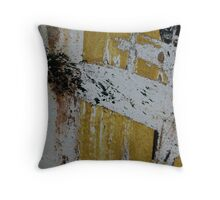 A small dog named Spot, barking at inexplicable happenings Throw Pillow
