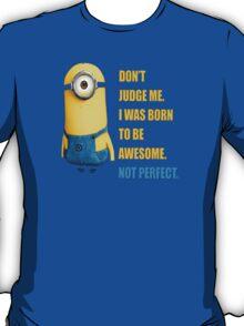 Me Awesome Perfect Minion T-Shirt