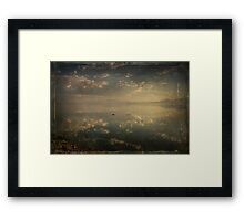 I Find It Hard To Find The Words To Say Framed Print