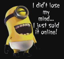Me Lose My Mind Minion by rizkya085Design