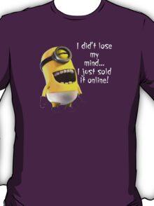 Me Lose My Mind Minion T-Shirt