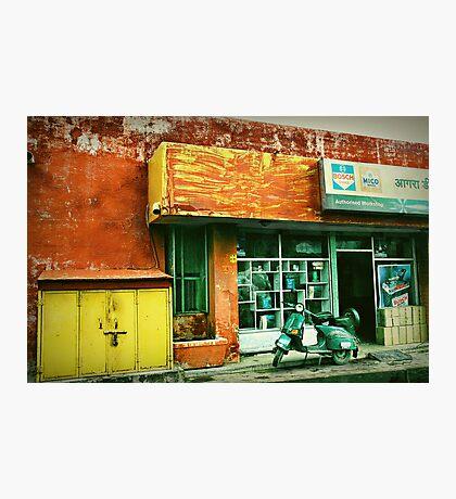 *Garage Grit* Photographic Print