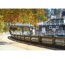 Stanley Park Sea Wall Photographic Print