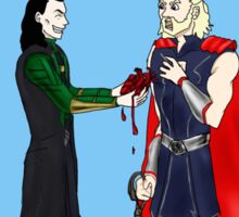 Loki and Thor: Have a Heart Sticker