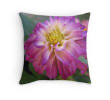 Delectable Dahlia Throw Pillow