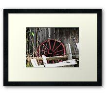 Fifth Wheel Framed Print