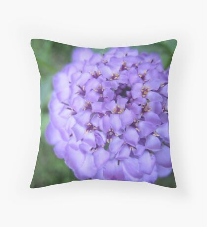 A tournament of Purple Throw Pillow