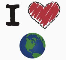 I Love the Earth by Lorie Warren