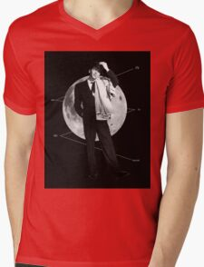 fly me to the moon Mens V-Neck T-Shirt