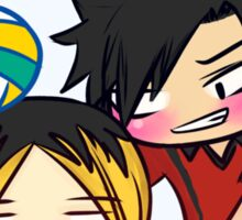 haikyuu!! bottles - kuroken Sticker