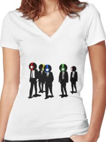 The Reservoir 12 Women's Fitted V-Neck T-Shirt