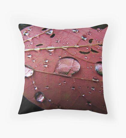 Natural Magnification Throw Pillow