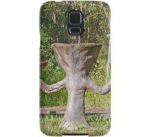 Letterbox/Birdbath, Wongawallan, Queensland, Australia Samsung Galaxy Case/Skin