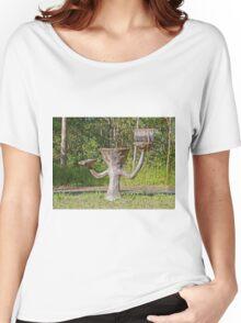 Letterbox/Birdbath, Wongawallan, Queensland, Australia Women's Relaxed Fit T-Shirt