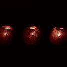1, 2, 3 Stemless Apples by Carrie Bonham