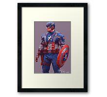 Captain America - The Patriot Framed Print