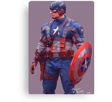Captain America - The Patriot Canvas Print