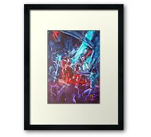 GYMPIE MUSTER - COLLECTION - black dog bob Framed Print