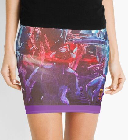GYMPIE MUSTER - COLLECTION - black dog bob Mini Skirt