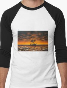 Another Day in Paradise Men's Baseball ¾ T-Shirt