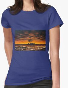 Another Day in Paradise Womens Fitted T-Shirt