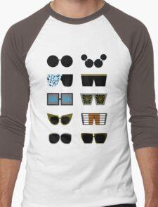 Gagaloo Men's Baseball ¾ T-Shirt