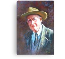 'Portrait of Tom Tehan' Canvas Print