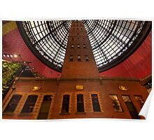 Coops Shot Tower - Angle #6 (colour), Melbourne - The HDR Experience Poster