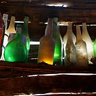 Bottles in the Shed  by Joe  Mortelliti