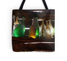 Bottles in the Shed  Tote Bag
