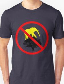 No elephants climbing on trees! T-Shirt