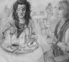 An Afternoon at the Cafe by Jasmin Witham